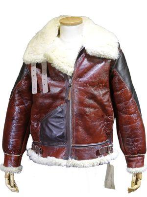 Sheepskin jackets aero leather custom for B b contract