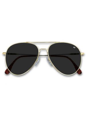 ... American Optical General Sunglasses 52mm Gold Frame with Spatula  Temples d0c10d29e